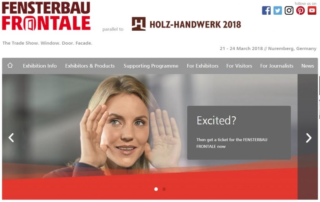 Siescomet convida você para a Fensterbau 2018