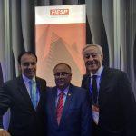 Presidente do Siescomet marca presença no ENAI 2018