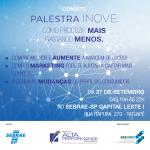 Projeto Alta Performance – Palestra INOVE: Dia 27 de setembro no Tatuapé!