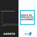 Confira a variação de preços do alumínio em agosto!