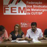 Siescomet assina CCT FEM CUT 2019/2020