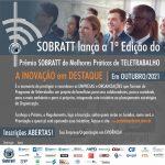 1ª Edição do Prêmio SOBRATT de MELHORES PRÁTICAS de TELETRABALHO