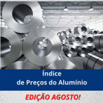 Índice de Preço do Alumínio – Agosto 2021